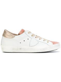 кроссовки с контрастным язычком Philippe Model