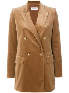 бархатный пиджак Brera Max Mara