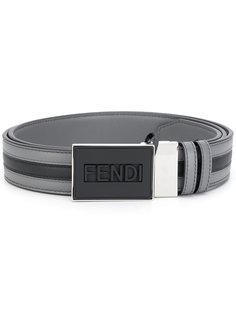 ремень с логотипом Fendi