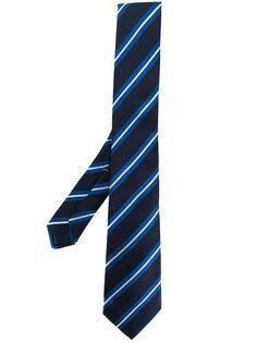 полосатый галстук Borrelli
