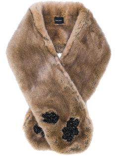 шарф с украшением из бусин Simone Rocha