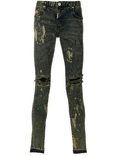 джинсы с выцветшим эффектом Represent