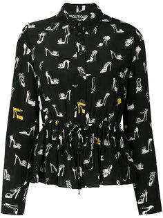 рубашка с принтом Camicia Boutique Moschino