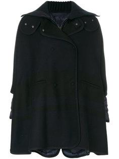 свободное дутое пальто Moncler