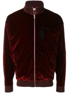 бархатная куртка-бомбер Golden Goose Deluxe Brand