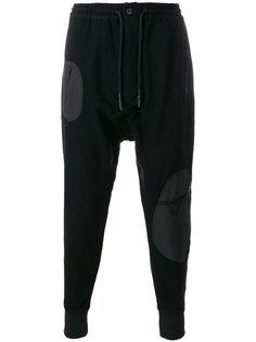 спортивные брюки с заниженной проймой Y-3
