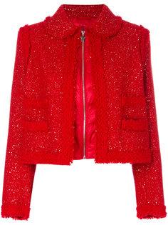 дутая куртка букле  Moncler Gamme Rouge