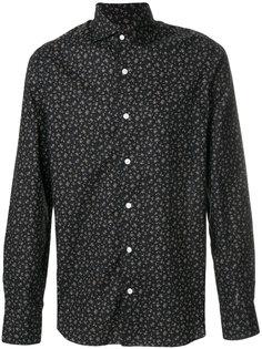 рубашка с цветочным принтом Barba