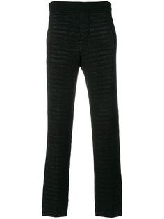 брюки прямого кроя Missoni