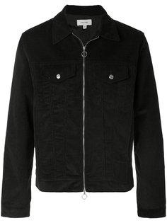 укороченная джинсовая куртка на молнии Soulland