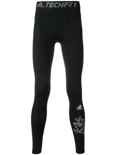 спортивные леггинсы с графическим принтом Adidas By Kolor