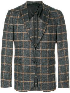 пиджак в клетку Boss Hugo Boss