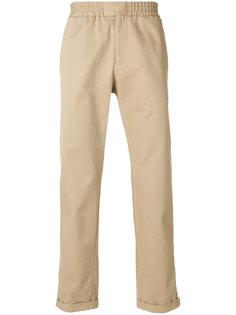 брюки с эластичным поясом MSGM