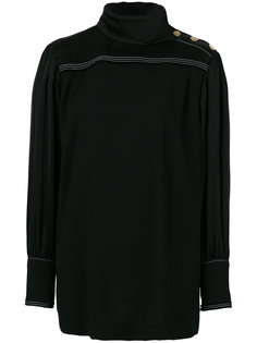 блузка с высоким воротом  Sonia Rykiel