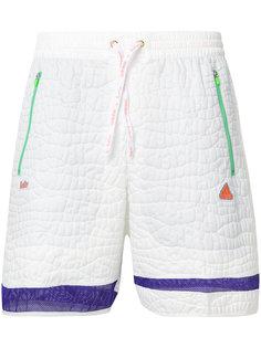 фактурные спортивные шорты  Adidas By Kolor