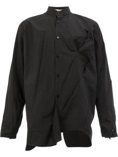 рубашка с воротником-стойкой Aganovich