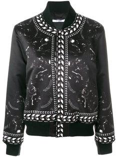куртка-бомбер с принтом Panther Givenchy