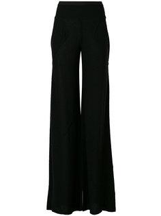 брюки-палаццо  Rick Owens Lilies