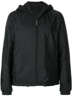 двусторонняя куртка на молнии Prada