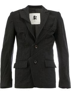 пиджак со сборками Aganovich