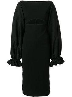 платье миди с вырезом Darcy Solace London