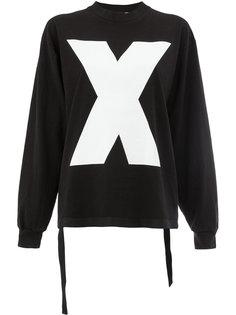 футболка X с длинными рукавами Aganovich