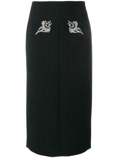 юбка с украшением из кристаллов Nº21