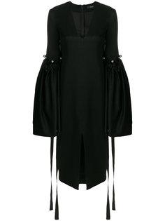 свободное платье с рукавами клеш  Ellery