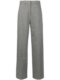 широкие брюки с ломаную клетку  Victoria Beckham