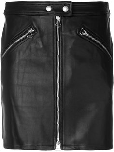байкерская юбка на молнии Rag & Bone /Jean