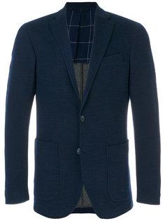 однобортный пиджак Hackett