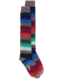 полосатые носки Missoni