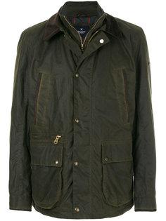 куртка с вощеной отделкой Hackett