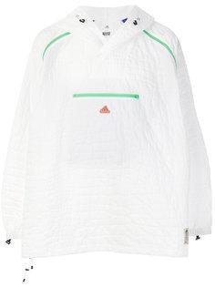 фактурная куртка с капюшоном   Adidas By Kolor