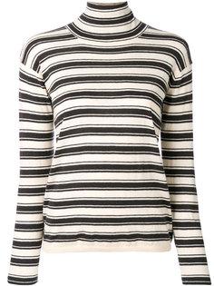 свитер с высоким воротником в полоску Bellerose