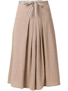 плиссированная юбка с завязкой на бант Bellerose