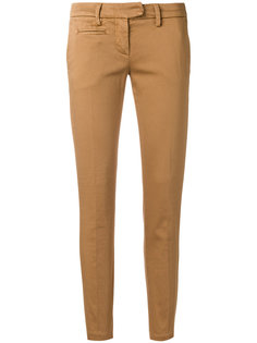 облегающие брюки-чинос  Dondup