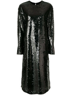 платье-миди с пайетками McQ Alexander McQueen