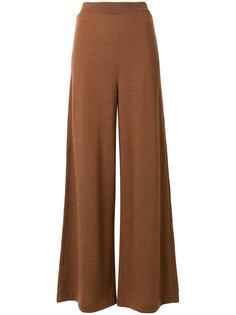 расклешенные широкие брюки Roberto Collina