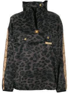 ветровка с капюшоном с леопардовым узором Astrid Andersen