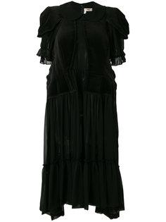 плиссированное платье  Comme Des Garçons