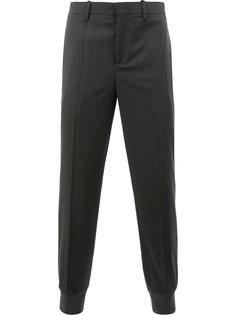 зауженные брюки в тонкую полоску Neil Barrett