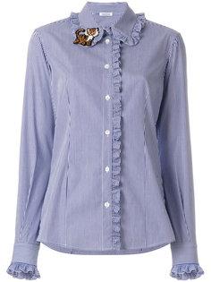 рубашка с оборками P.A.R.O.S.H.