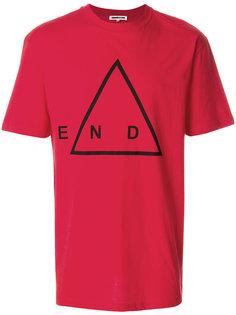 футболка с принтом end McQ Alexander McQueen