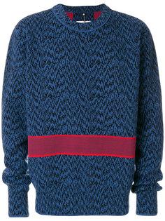 свитер с вышивкой Oamc