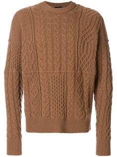 классический свитер Roberto Collina