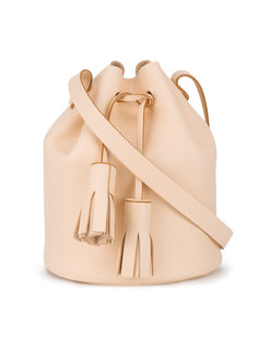 сумка-ведро на плечо с кисточками Building Block