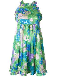 платье со сборкой  Balenciaga