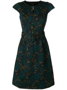 платье миди с жаккардовым цветочным узором  Etro
