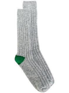 носки с контрастными пятками Bellerose